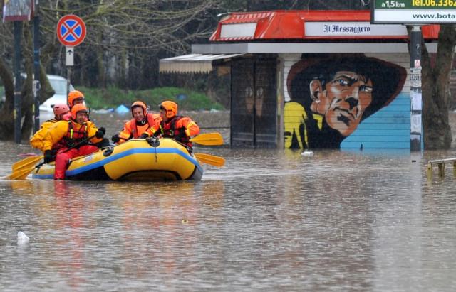 Roma inondazione 2014